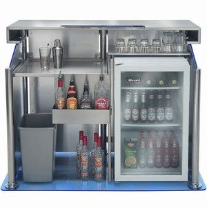 The New Home Bar From Quench Is Small Enough Not To Dominate A Room When You Re Chilling Out But Required Hit Switch And Luminous Acrylic