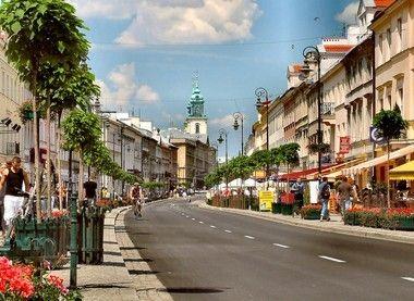 Nowy Swiat, Warsaw, Poland #ridecolorfully