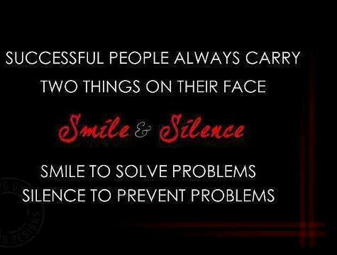 Smile & Silence...