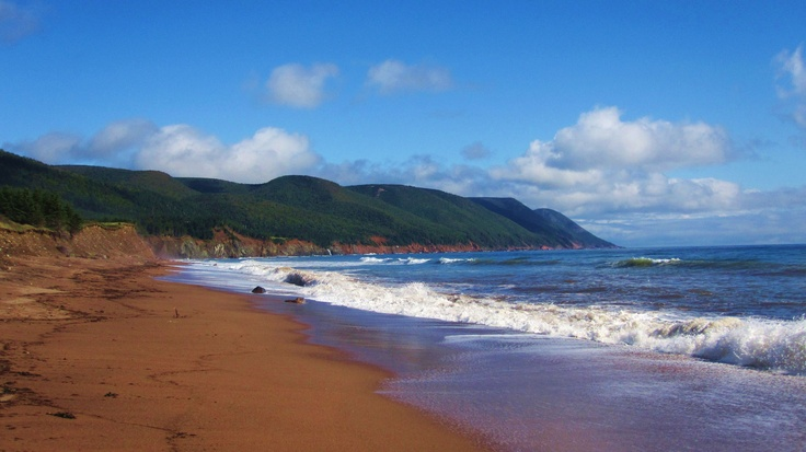 """Cabot's Landing Beach – The site where John Cabot first landed in 1497"", Cape Breton, Nova Scotia"