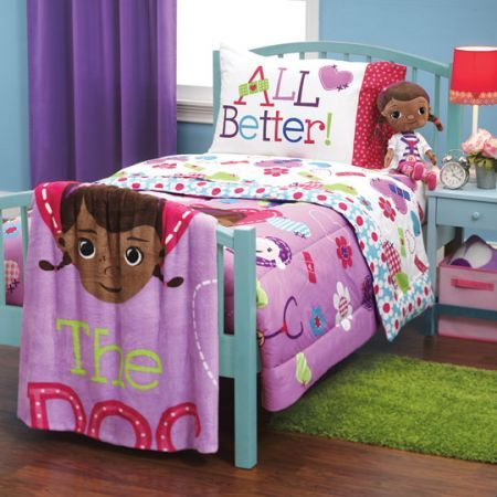 This Doc McStuffins Bedding Collection Offers A Reversible Comforte.