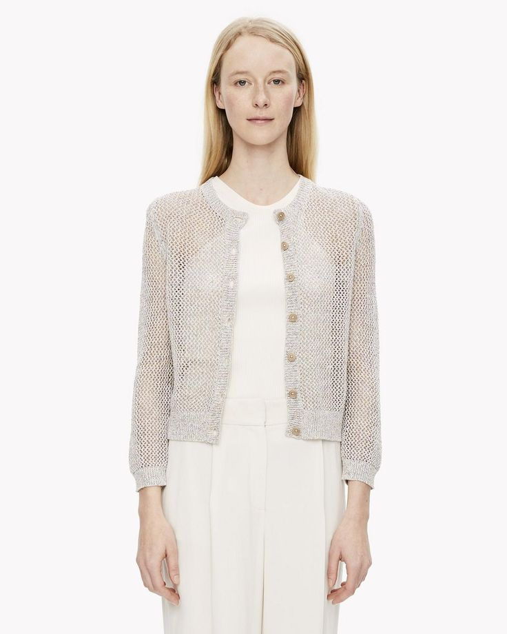 open weave cardigan from THEORY
