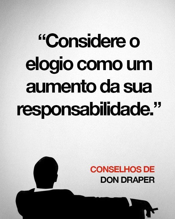 Conselhos de Don Draper