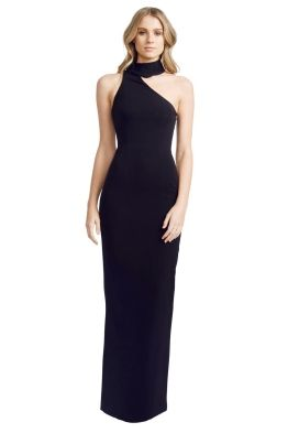 Elle Zeitoune - Harper Black Dress - Front - Black