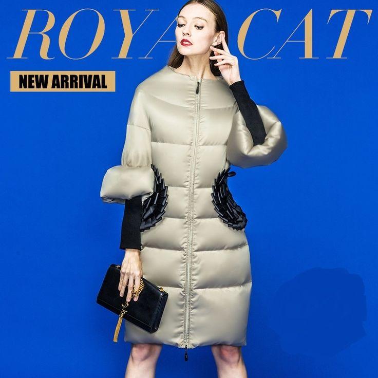 223.23$  Buy now - http://ali08h.worldwells.pw/go.php?t=32556521754 - 2016 Winter Jacket Women Down coat 90% Duck down Slim Outwear long coat Plus size down parka womens winter jackets and coats