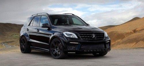 Cool Mercedes: Nice Mercedes: Kraft & Protz: Mercedes ML 63 AMG von TopCar: Schwarz, breit ...  Cars 2017 Check more at http://24car.top/2017/2017/04/09/mercedes-nice-mercedes-kraft-protz-mercedes-ml-63-amg-von-topcar-schwarz-breit-cars-2017/
