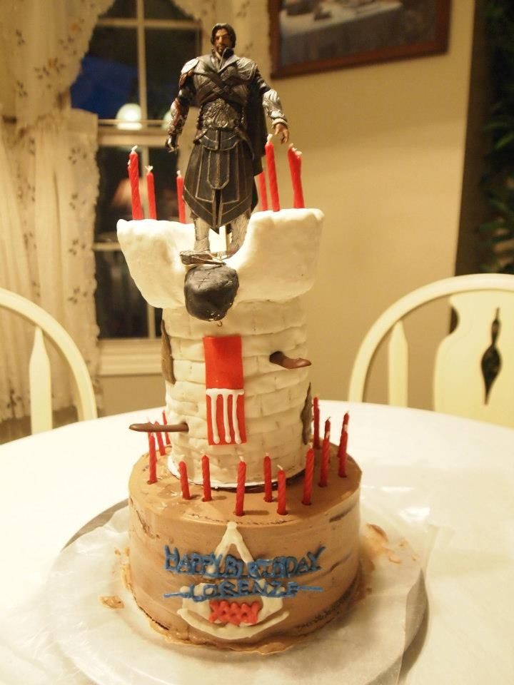 For the birthday assassin 39 s 35th birthday a homemade for 35th birthday decoration ideas