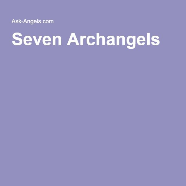 Kabbalah And Invoking The Angels - Izabael Dajinn's Occult ... |7 Archangels Names And Meanings
