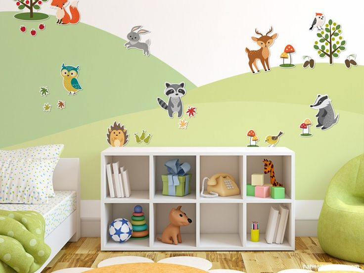 Magically magnetic wall decals for kids from Resene. Change them as your child grows, or has a change in mood.