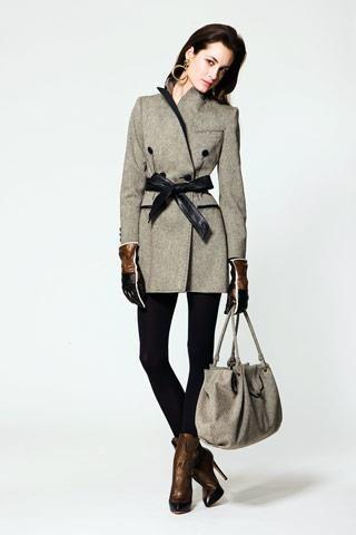 Пальто демисезонное женское кожанное