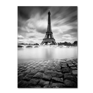 Trademark Fine Art 19 in. x 14 in. Eiffel Tower Study I Canvas Art ALI0051-C1419GG at The Home Depot - Mobile
