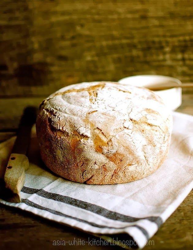 Chleb z karmelizowanym porem i ziarnami