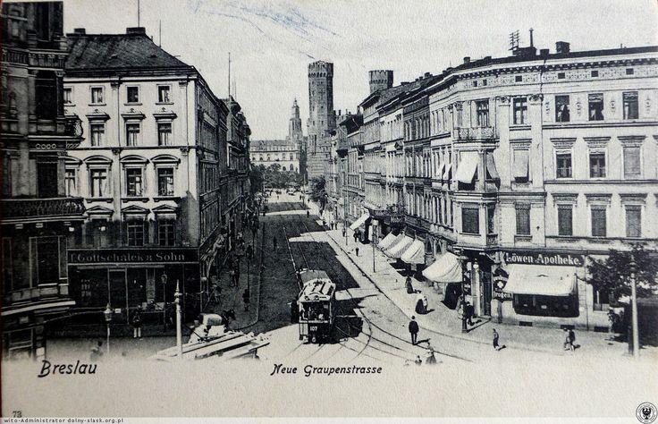 Ul. Sądowa (Neue Grauoenstrasse.Lata 1900-1910