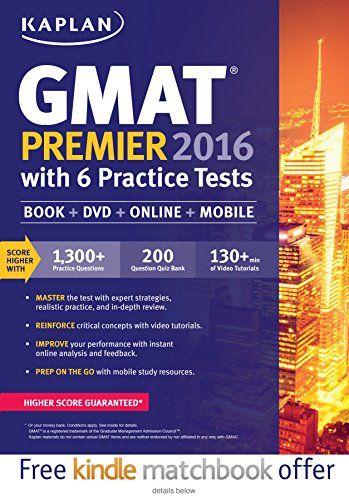 "Kaplan GMAT Premier 2016 with 6 Practice Tests: Book + Online + DVD + Mobil- 1625231350 - Kaplan GMAT Premier 2016 with 6 Practice Tests: Book + Online + DVD + Mobile (Kaplan Test Prep) by Kaplan [caption id="""" align=""alignleft"" width=""200...  #Kaplan #TestPrepartion"