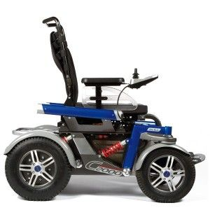 Otto Bock C2000 power wheelchair for outdoor>>> See it. Believe it. Do it. Watch thousands of spinal cord injury videos at SPINALpedia.com