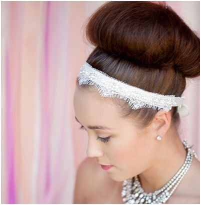 Lace Bridal Headband Bridal headband rhinestone by LoBoheme, $138.00: Headbands Bridal, Lace Bridal, Lookbook Inspiration, Bridal Lookbook, Hair Pieces, Headbands Rhinestones, Pretty Lace, Bridal Hair, Bridal Headbands