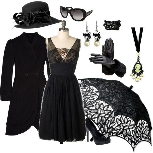 13 Best What To Wear Funeral Attire Images On Pinterest | Black Outfits Funeral Outfits And Style