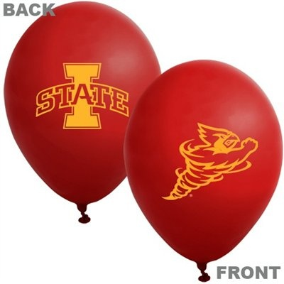 Iowa State Cyclones Printed Latex Balloon