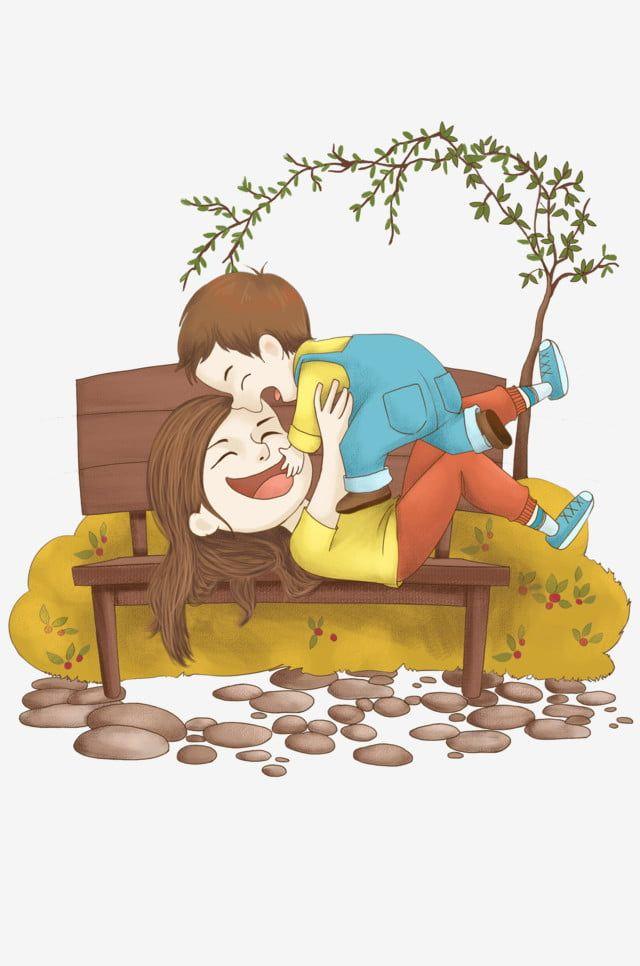 رسوم متحركة أمي الأطفال كرسي التوضيح الأطفال أم تحمل طفلها Png وملف Psd للتحميل مجانا Cartoon Mom Kids Chairs Mom Kid
