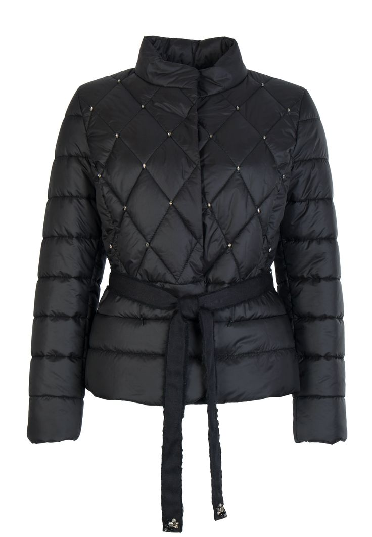 Онлайн-магазин Elyts предлагает купить черную куртку LUISA SPAGNOLI по цене 43900 рублей. Бесплатная примерка перед покупкой. Звоните 8 (800) 200-1691.