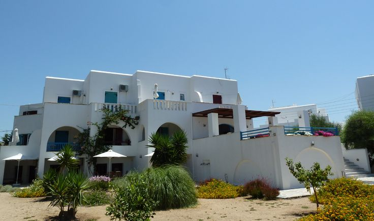 back side of Villa Naxia, Naxos, Greece