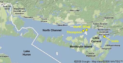 north channel of lake huron - Google Search