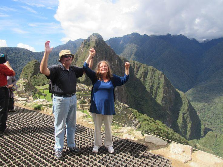 Felices y Contentos Gracias por confiar en nosotros.  Machu Picchu Agency