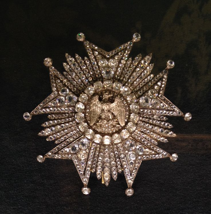 Order of the Legion of Honour - Diamond Star belonged to Emperor Napoleon III (Palais de Compiègne, France) ©Thomas Ghysdaël, All rights reserved