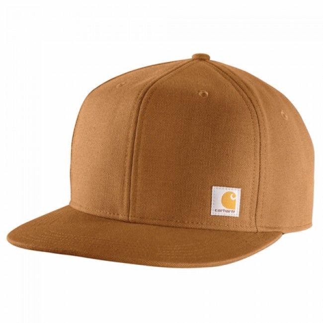 Carhartt Ashland Cap - Carhartt Brown. Iconic #Carhartt logo label sewn on front.