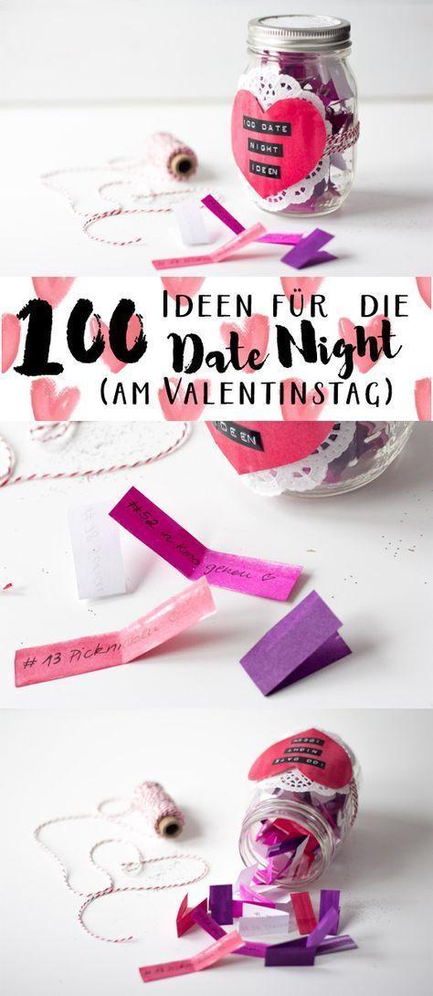 100 Ideen für ein Date {am Valentinstag} – #date #ein #für #GeschenkKaufen #id…