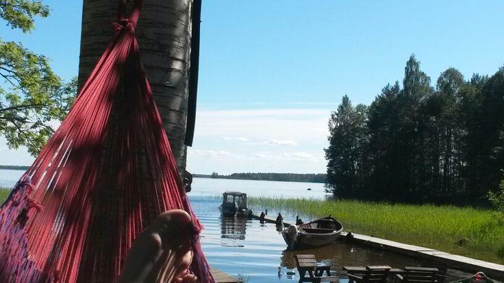 Happy hammocker @ Finland