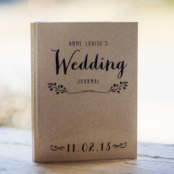 Personalized Wedding Journal <3