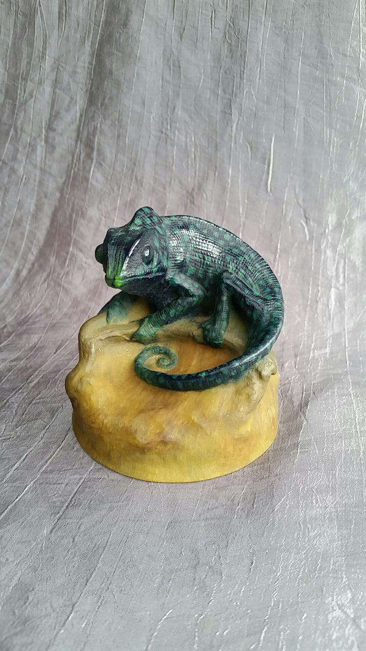 Paperweight, Lizard, Amalric walter / Henry Berge 1920 - 25