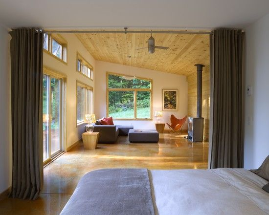 open and airy  Joan Heaton Architects