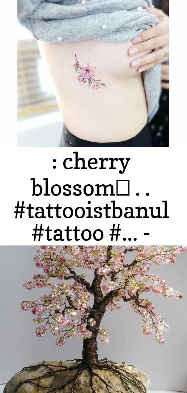 Cherry Blossom Tattooistbanul Tattoo Blossom Cherry Cherryblossom Tattoo Tatt 7 Cherry Blossom Bonsai Tree Blossom