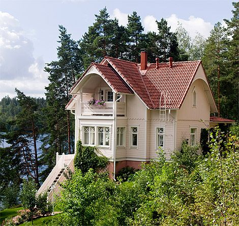 Dream home in a dream milieu – Finnish Kannustalo Ainola
