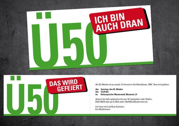Einladungskarten Selbst Gestalten So Einfach Geht S: 17 Best Ideas About Einladung Zum 50. Geburtstag On
