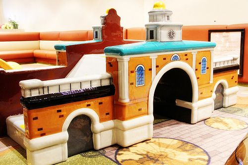 The historic Market House in Downtown Fayetteville may not be very kid friendly, but this version definitely is!