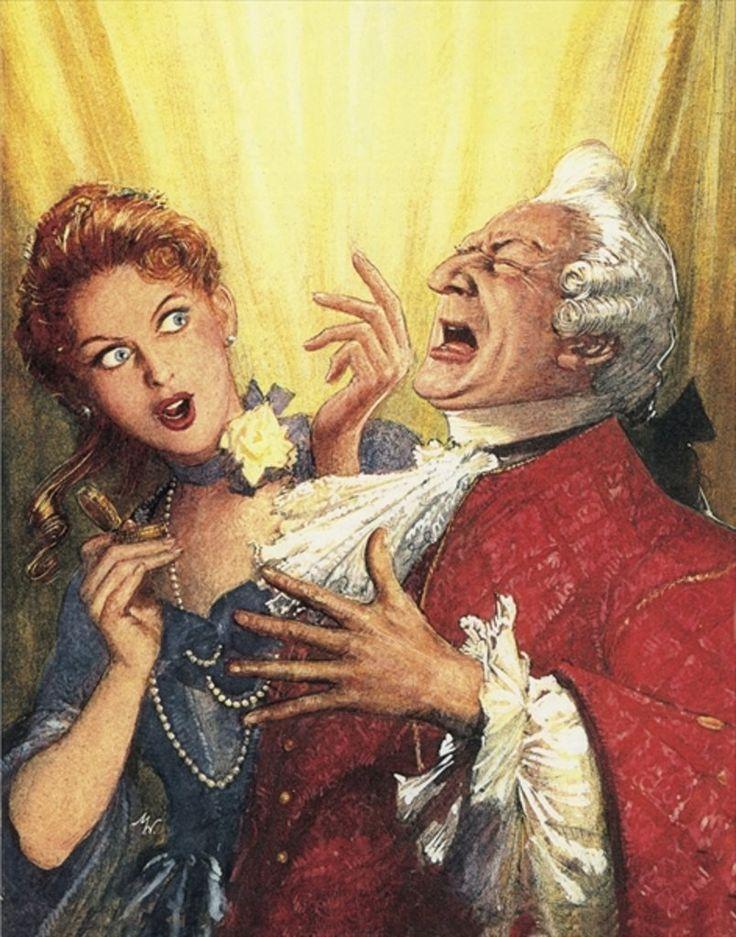Illustration for Alexander Pope's The Rape of the Lock by John Millar Watt.