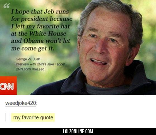 Is George Bush Even Real?#funny #lol #lolzonline