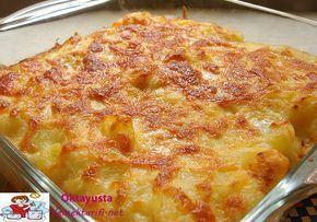 firinda besamel soslu patates