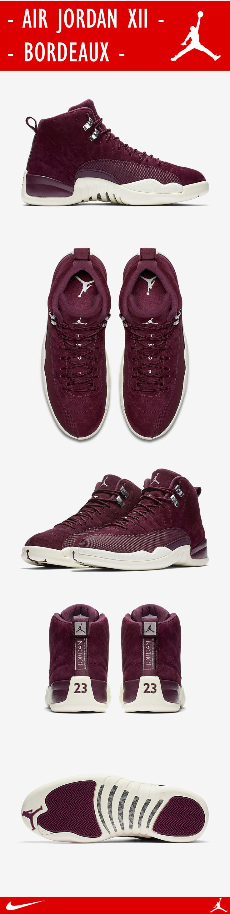 Nike Air Jordan XII - Bordeaux | Luxury Sneaker