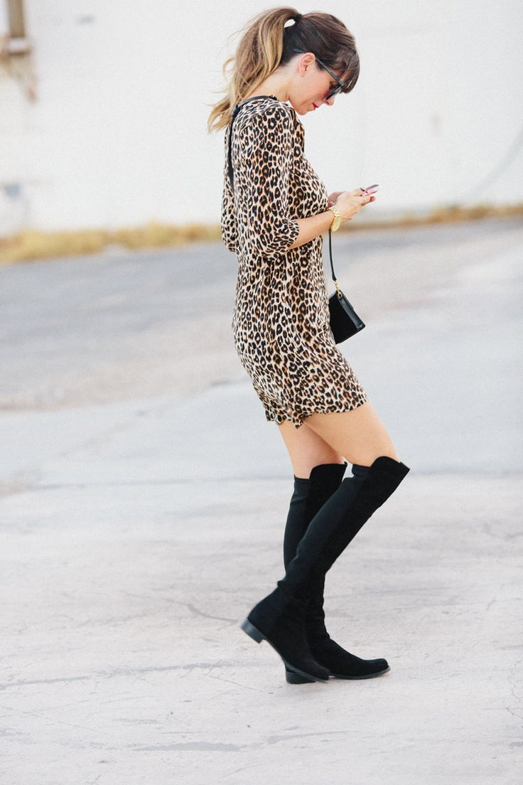 Leopard + Boots | A House in the Hills