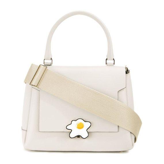 Egg Bathurst satchel, Womens, White