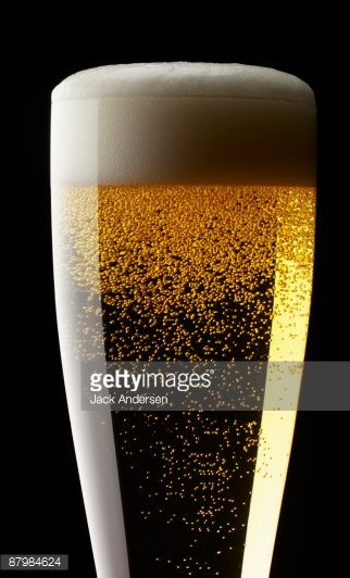 Stock Photo : Glass of beer