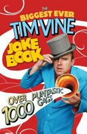 The Biggest Ever Tim Vine Joke Book - Free Books - The irrepressible, hysterical, puntastical Tim Vine, star of stage and screen, treats all of us here in his first joke book. Packed full of zingers and hilarious illustrations, if this doesn't put a smile on your face, nothing will.