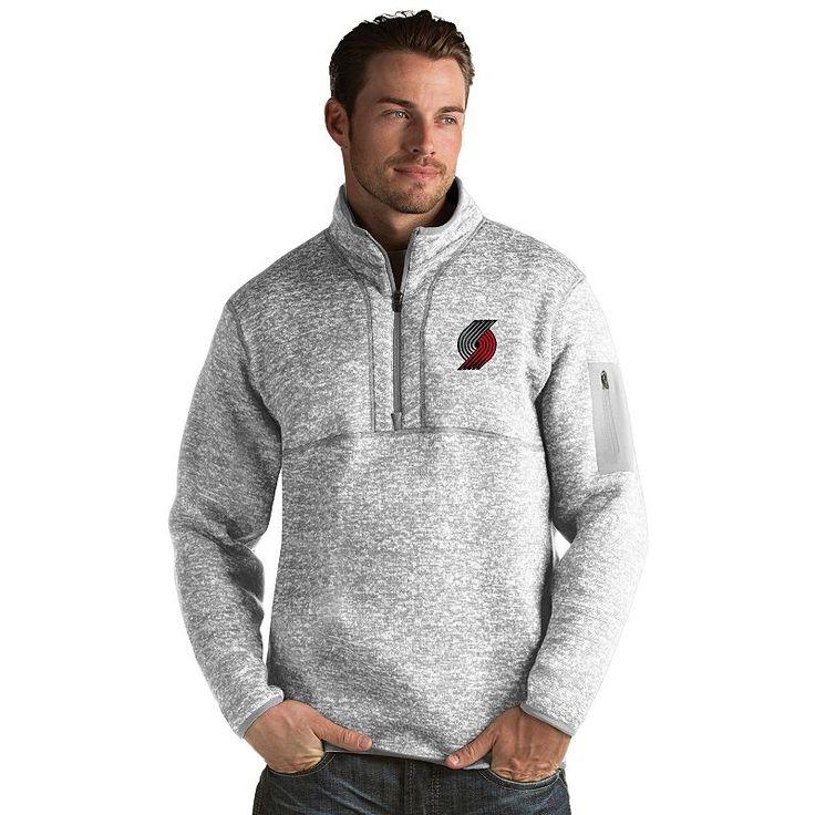 Antigua, Men's  Portland Trail Blazers Fortune Pullover, Size: 3XL, Grey Other