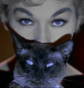 Kim Novak and Pywacket, Bell, Book and Candle