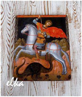 ёлки-палки... : Святой Георгий, побеждающий дракона