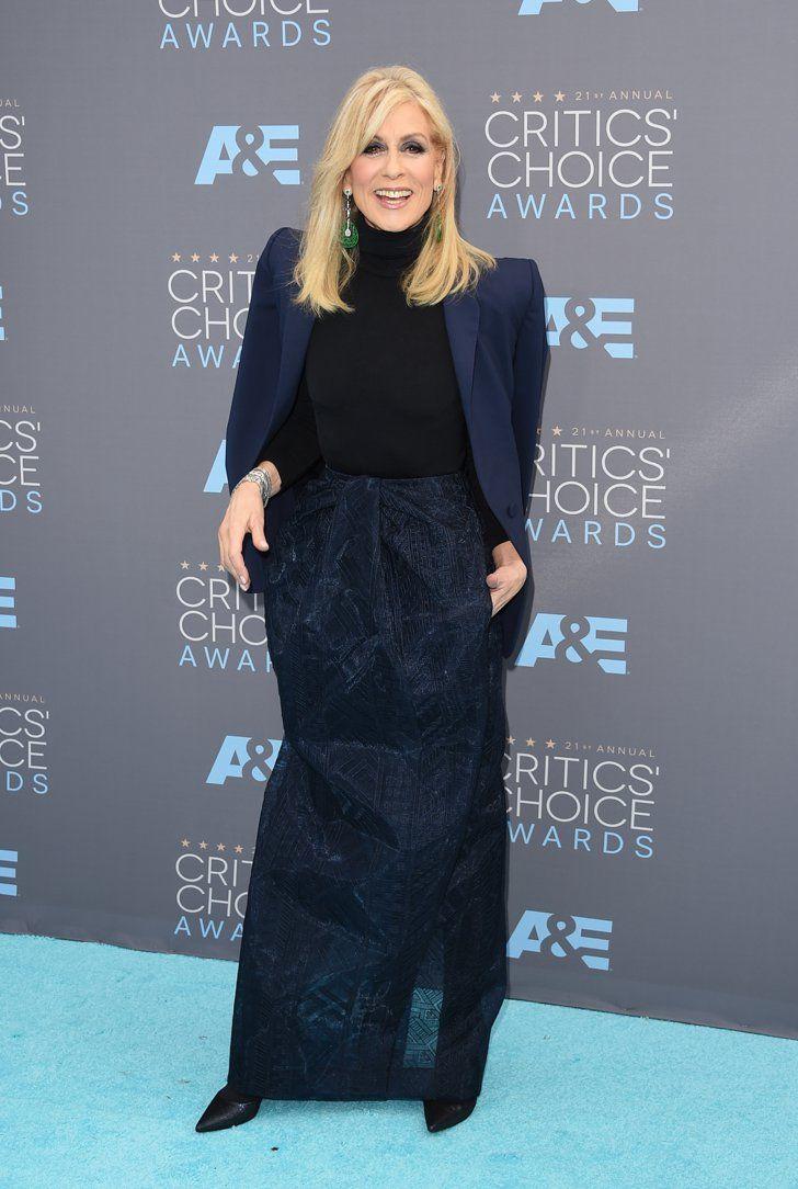 Pin for Later: Ne Manquez Pas un Seul des Looks Vus aux Critics' Choice Awards Judith Light